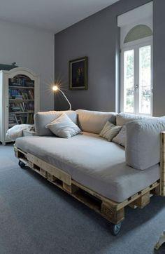 wohnzimmermöbel aus paletten zum selber bauen