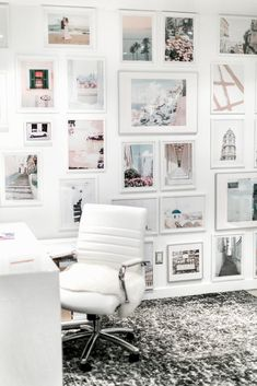 My Office Gallery Wall – Home Office Design Layout Gallery Wall Frames, Frames On Wall, Gallery Walls, Home Office Design, Home Office Decor, Cozy Office, Office Ideas, Office Furniture, Pastel Home Decor