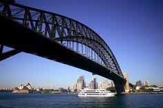 Photo about Sydney Harbor Bridge with ferry boat on sunny day. Image of motor, sunny, city - 2145144 Harbor Bridge, Sydney Harbour Bridge, Ferry Boat, Free In, 5 Ways, Sunny Days, Architecture Design, Stock Photos, Sydney Australia