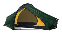 Hilleberg - Enan - 1 person. Very light, very strong – and remarkably comfortable – three-season solo tent.
