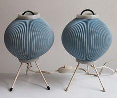 50er 60er 70er Tischlampe Lampe Leuchte Midcentury Vintage Tripod Rockabilly DDR