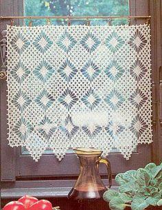 27 Beste Afbeeldingen Van Haken Gordijntjes Crochet Curtains