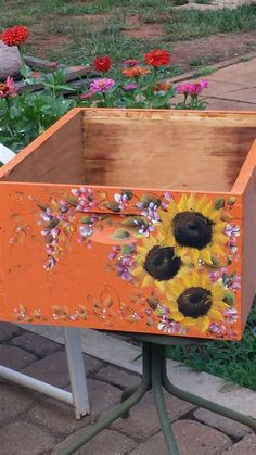 Image result for Custom-Painted Bee Hives