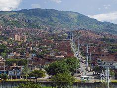 Metrocable Gondola, Medellin, Colombia, South America Photographic Print