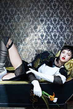Lindsey Wixson by Emma Summerton for Vogue Italia November 2014 | The Fashionography