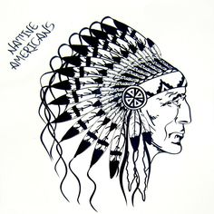 1pcs Cool Native American Indian Tattoos Women Men Arm Designs,Beautiful Black Indians Waterproof Temporary Tattoo Stickers