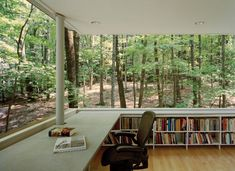 Forest + Library = Heaven