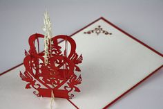Hey, I found this really awesome Etsy listing at https://www.etsy.com/ru/listing/181934921/wedding-congratulations-popup-card-3d