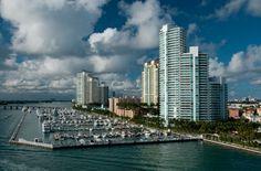 Miami Beach Marina, Florida