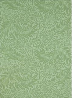 Larkspur wallpaper, designed by Morris in 1872.