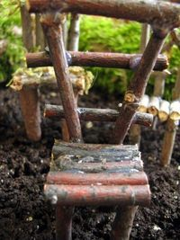 How to make fairy garden furniture