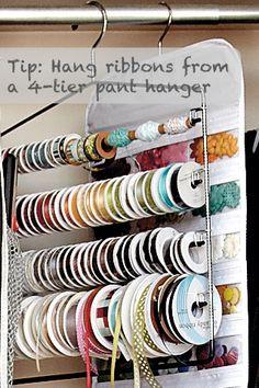 Organizing ribbon