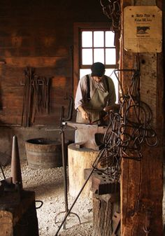 Blacksmith Shop & Tools