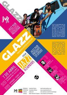 Concierto de Glazz para el ciclo Jazz con Zapatos.