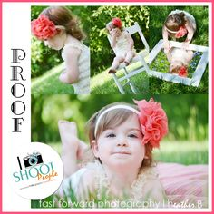 toddler child baby little girl photography, sneak peek, hair bow, mirror picture, outdoor photography, cute lace romper, green grass