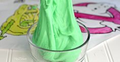 Homemade Slime Recipe (Just 2 Ingredients)