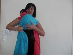 burp hold with two slings shoulder carry