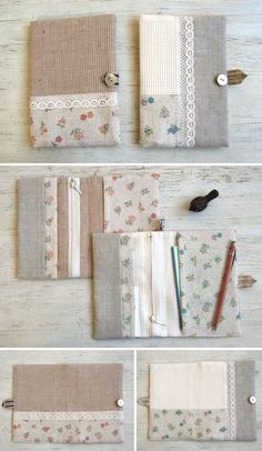 Large fabric wallet, instructions in Japanese, with comprehensive images | free tutorial, diy, free pattern, homemade, handmade