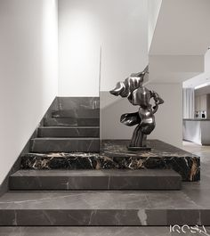 New luxury is a modern individuality, progressive design and functionality. Home Stairs Design, Interior Staircase, Modern House Design, Interior Architecture, Modern Stairs Design, Rooms Decoration, Decoration Design, Luxury Interior, Home Interior Design