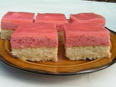 High Sugar, Czech Recipes, Vanilla Cake, Ham, Cheesecake, Gluten, Cookies, Sweet, Food