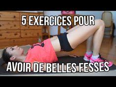 5 EXERCICES POUR AVOIR DE BELLES FESSES CET ETE. - YouTube - cindy body fitness Pilates Training, Pilates Workout, Butt Workout, Gym Workouts, Exercise, Tabata, Fitness Diet, Yoga Fitness, Health Fitness