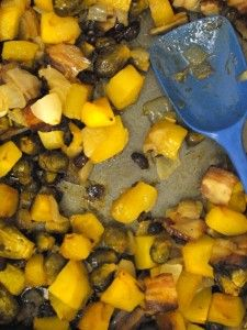 Roasted Fall Vegetables and more vegetable Paleo side dishes recipes on MyNaturalFamily.com #paleo
