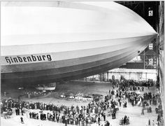 Hindenburg launching