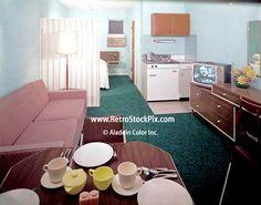 packard motel in wildwood nj   Packard Motel North Wildwood NJ 1960's Motel Kitchen.tif