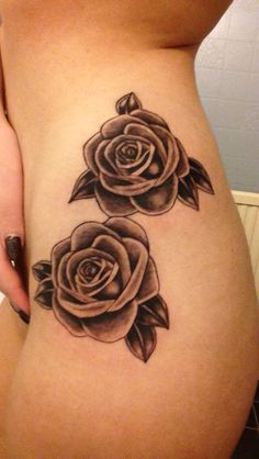 Latest tattoo gorgeous rose hip piece