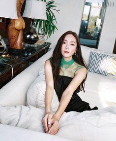 Grazia Korea October 2018 Issue The Golden Days Jessica & Krystal, Jessica Lee, Krystal Jung, Taeyeon Jessica, Kim Hyoyeon, Yoona, Korean Beauty, Asian Beauty, Jessica Jung Fashion