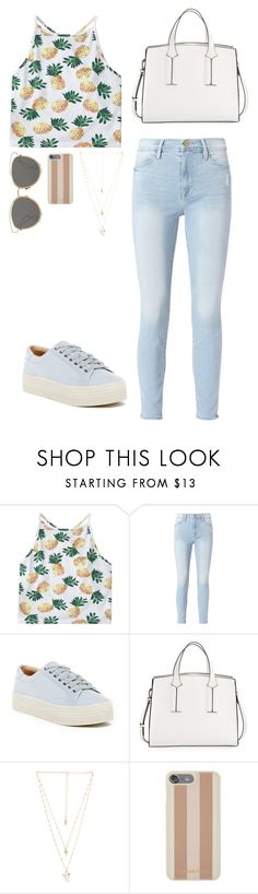 """""""Feeling summer"""" by summerloveforever335 on Polyvore featuring Frame, Marc Fisher LTD, French Connection, Natalie B, Michael Kors and Christian Dior"""
