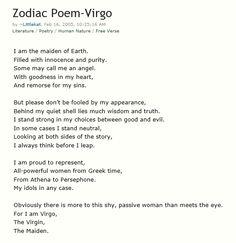 Zodiac Sign: Virgo