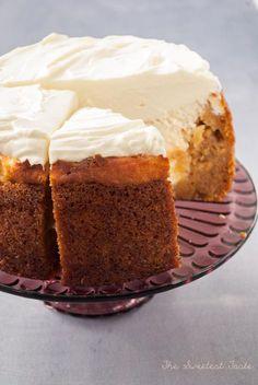 The Sweetest Taste: Tarta de zanahoria y queso