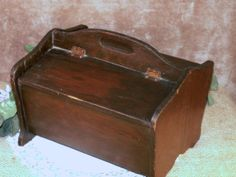 Antique Wooden Sewing box early 1900s