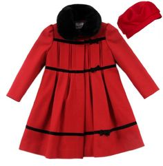 Rothschild Baby-Girls 3 Bow Dot Jacket