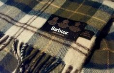 Barbour scarf I WANT