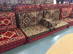 9b8fa18aca03 Anatolian Oriental Corner Set 2 x PILLOW Cases (backrest) 2 x PILLOW Cases  (for arm) 2 x COUCH CASE HAND WOVEN measurements: Big pillowcases: 95x40 cm  Small ...
