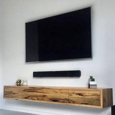Tv Stand Shelves, Tv Stand Cabinet, Tv Shelf, Bedroom Tv Stand, Tv In Bedroom, Tv Unit Decor, Tv Wall Decor, Tv Wall Design, Shelf Design