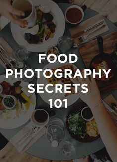 Some good to know secrets when it comes to food photography. Some very useful tips worth checking.