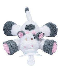 Cutsie Cow Paci-Plushies Buddies