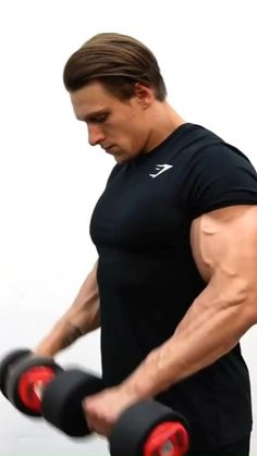 Gym Workouts For Men, Gym Workout Videos, Workout Routine For Men, Gym Workout For Beginners, Fitness Workout For Women, Weight Training Workouts, Big Biceps Workout, Dumbbell Workout, Sport