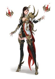 ArtStation - Wizard, cheolseung ok Fantasy Female Warrior, Female Armor, Anime Warrior, Warrior Girl, Female Knight, Fantasy Character Design, Character Design Inspiration, Character Concept, Character Art