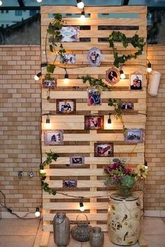 Use Pallet Wood Projects to Create Unique Home Decor Items – Hobby Is My Life Diy Wedding, Rustic Wedding, Dream Wedding, Xbox Wedding, Wedding Ideas, Wedding Themes, Fall Wedding, Pallet Home Decor, Diy Pallet