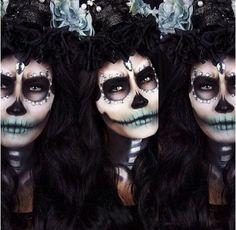 Halloween make up! !