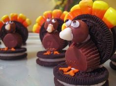 edible turkey crafts | Edible Thanksgiving Crafts To Do With Grandchildren | Grandma Ideas ...