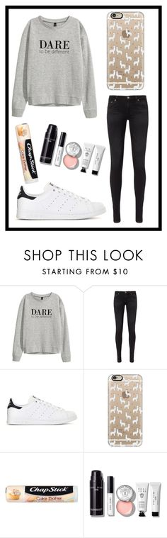 """""""#541 dare to be different"""" by xjet1998x ❤ liked on Polyvore featuring AG Adriano Goldschmied, adidas, Casetify, Chapstick and Bobbi Brown Cosmetics"""