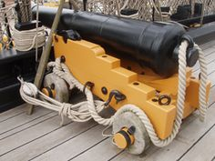 12 Pounder naval cannon