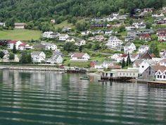 village of Aurland in Sogn og Fjordane, Norway.