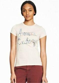 b055eb77fc Camiseta Armani Exchange Women s Printed Script Logo Tee Creamer E5X252   Camiseta  Armani Exchange