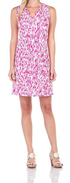 Allison Dress in Rain Drop Hot Pink Florida Location, Rain Drops, Summer Collection, Palm Beach, Envy, Hot Pink, Boutique, Clothing, Shopping